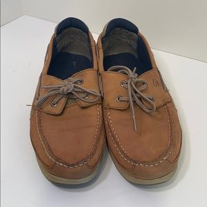 Sperry Lanyard Boys 6 boat shoes